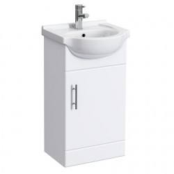 Classic Vanity Unit Cabinet with Basin 450 mm
